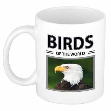 Amerikaanse zeearenden mok dieren foto birds of the world beeldje kopen