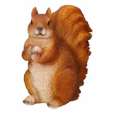 Beeld eekhoorntje polyresin beeldje kopen