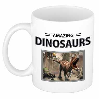 Carnotaurus dinosaurus mok dieren foto amazing dinosaurs beeldje kopen