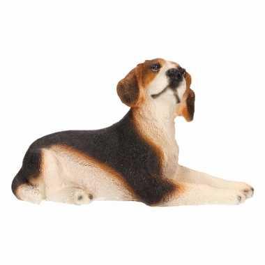 Decoratie beeld Beagle hond beeldje kopen