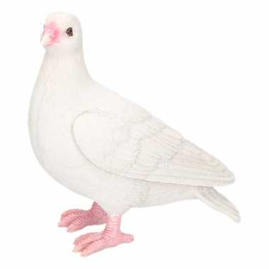 Decoratie beeld duiven vogel wit beeldje kopen