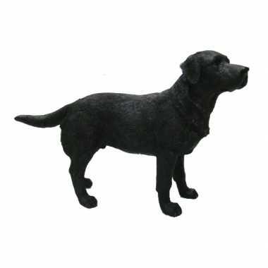 Decoratie beeld labrador zwart beeldje kopen