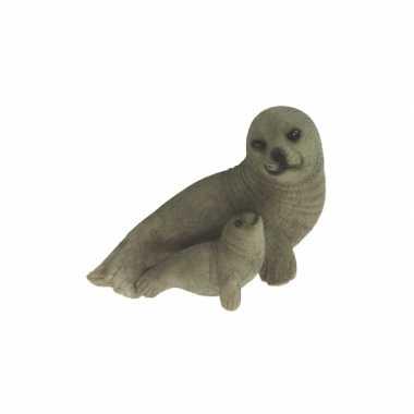 Decoratie beeldje zeehondje kopen