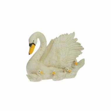 Decoratie beeldje zwaan kopen