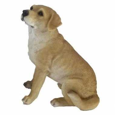 Decoratie dieren honden beeldjes labrador kopen