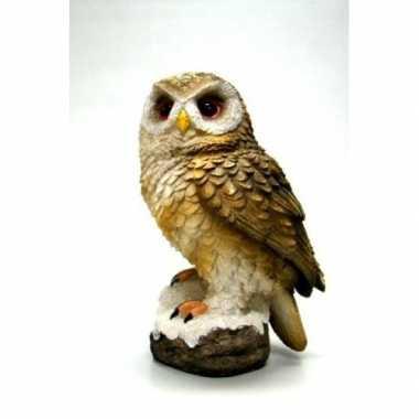 Decoratie dieren vogel beeldjes bosuil kopen