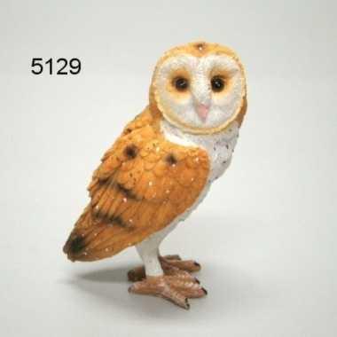 Decoratie dieren vogel beeldjes kerkuil kopen