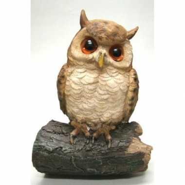 Decoratie dieren vogel beeldjes uil om te hangen kopen