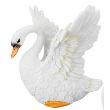 Dierenbeeldje zwaan opstijgend kopen
