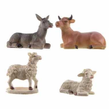 Kerststal dieren stuks beeldje kopen 10246024