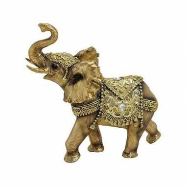 Olifant beeld goud beeldje kopen