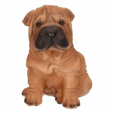 Shar pei hond huiskamer beeldje kopen