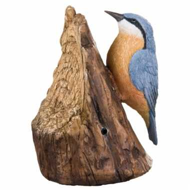 Tuin decoratie vogel boomklever geluid , beeldje kopen