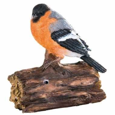Tuin decoratie vogel goudvink geluid , beeldje kopen