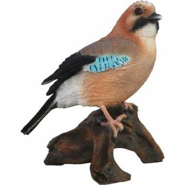 Woonaccessoires vlaamse gaai vogel beeldje kopen