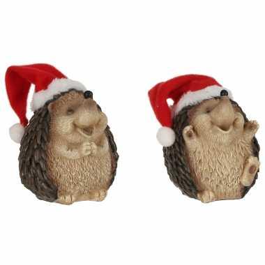 X egels kerstmuts beeldjes/kerstbeeldjes kopen