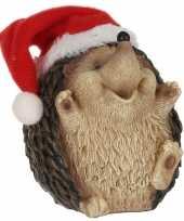 Egel kerstmuts beeldjes kerstbeeldjes kopen